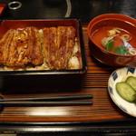 はしもと - 鰻丼 上 2000円 しっとりフックラ 甘いタレとまじわって美味しい~