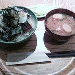 18003323 - かつおの漬け丼定食(850円)