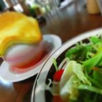 長住喫茶堂 - パイ包みスープ