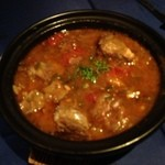 アロヒディン - 骨付き羊肉のカボブ(骨付き羊肉のトマトスープ煮込み)