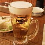 串だおれ - 生ビール