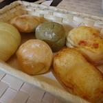 イル カフェ・モリタ - ランチのパン