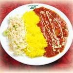 JAY - 日替りカレーライス カレー(日替り)・ライス・サラダ 680円