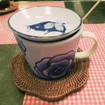 ライス カフェ - 中国茶ではなくアールグレー