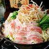 えなっく - 料理写真:島人のもつ鍋★沖縄名物ミミガーと島豚をたっぷり使い、昆布・カツオでとったスープに白湯を合わせ、トンコツ味に仕上げました(1,200円)