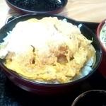 山六 そば店 - かつ丼☆650円(2013/3)