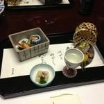 Nishimurayahonkan - 前菜+食前酒