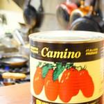 浪花オムライス - トマトたっぷり使います!
