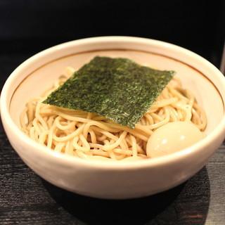 BASSOドリルマン - 料理写真:HOT BASSO (辛口つけそば) + 味付け玉子