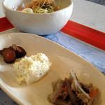 サイドプロジェクトカフェ - お惣菜とお漬物