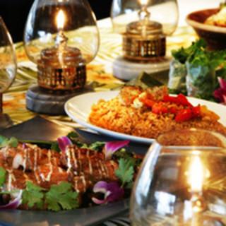 食欲をそそる、本場アジア料理