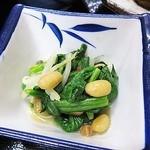 18012739 - 日替わり定食(¥600)の小鉢1