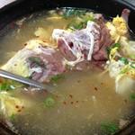 焼肉 門 - 激ウマ!しっぽ汁