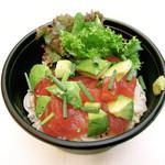 アロハテーブル ハワイアンデリ - アヒポキ丼