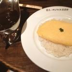 カフェバーンズ - チーズオムハヤシ ¥1260