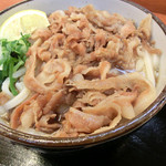 麺処 綿谷 - 料理写真:豚肉ぶっかけ