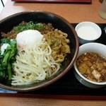 18016960 - 汁なし担々麺(ランチ:麻婆豆腐&杏仁豆腐付き)850円