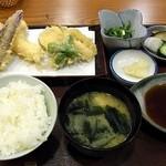 花むら - ランチ天ぷら定食