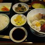 いかざき - 刺身定食(ランチ) 800円
