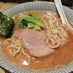 麺屋 百式 - 魚介豚骨(ねぎ抜き)