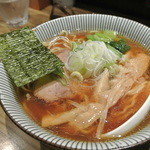 麺屋 百式 - お醤油ラーメン・中盛り