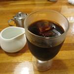 キッチンTiKi - 食後のアイスコーヒーです