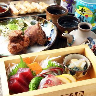 沖縄料理と新鮮な魚介が◎
