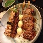 18024577 - 焼鳥丼(850円)
