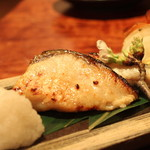 和酒BAR風雅 - 黒ムツ 塩麹焼き のアップ