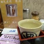 蔵元豊祝 - 2013.03 蔵出し原酒250円♪めっちゃ安くてもちゃんと美味しい。さすが蔵元直営!