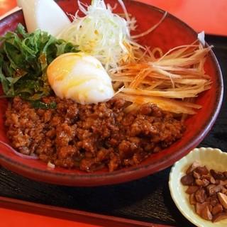 麺厨房 華燕 - 料理写真:汁なし坦々麺