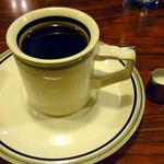 ドンキー - ランチのセットでついてきたホットコーヒー
