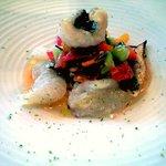 1803733 - 季節の魚とフレッシュトマトの冷製カッペリーニ