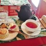 ここいろ - 紅茶とスコーン