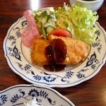 ロダン - 料理写真:チキンしそカツ定食