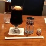 丸福珈琲 - コーヒーフロート 720円