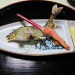 玉貴 - 川魚の塩焼き