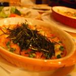 愛花夢 - 山芋とアボカドのグラタンは一番人気