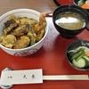中野天米 - 料理写真:ランチのミニ天丼