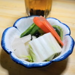 江戸政 - 2013.3 浅漬おしんこ(100円)