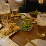 kawara CAFE&DINING - 貸し切りコース料理の一部