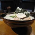 大漁まこと - 凝縮 蛤ざんまい そば 900円 麺大盛りサービス