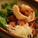 おず smoked和taste - 鶏の唐揚げ