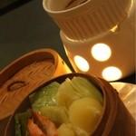 おず smoked和taste - 温野菜とバーニャカウダソース