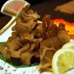旬鮮吟味 唐八 - 国産キクラゲのお刺身