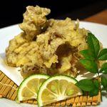 旬鮮吟味 唐八 - 国産キクラゲの天プラ