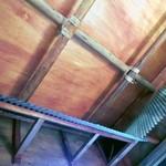 海鮮 まんまてい - 屋根の感じ。屋台の雰囲気が出ています。(ビル営業ですよ~。)