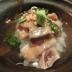 Awataguchi - 海鮮胡麻茶漬け 980円 の海鮮胡麻茶漬け