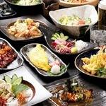 居酒屋てんてん - 料理写真:野菜、鮮魚や定番居酒屋メニューまで、幅広く120種類ご用意! ドリンクはオリジナルカクテルを含むと200種類以上!!