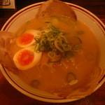 陣山ラーメン - 半熟煮玉子ラーメン700円